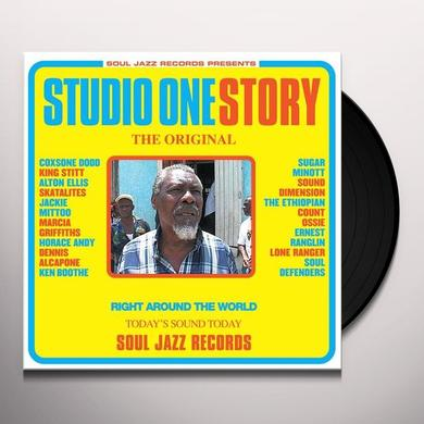 Soul Jazz Records Presents STUDIO ONE STORY Vinyl Record - Deluxe Edition