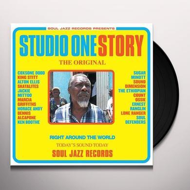 Soul Jazz Records Presents STUDIO ONE STORY Vinyl Record - Deluxe Edition