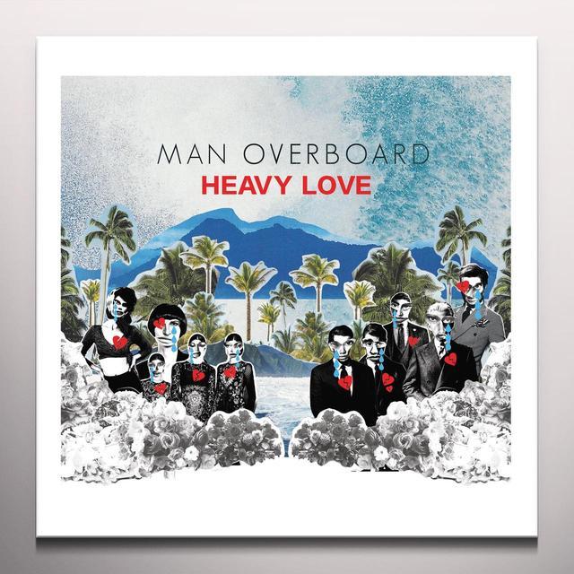 Man Overboard HEAVY LOVE (BONUS CD) Vinyl Record - Colored Vinyl