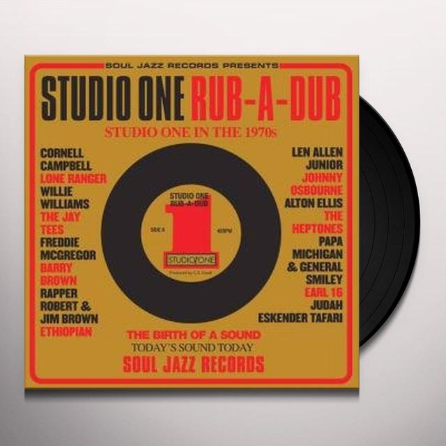 Soul Jazz Records Presents STUDIO ONE RUB-A-DUB Vinyl Record