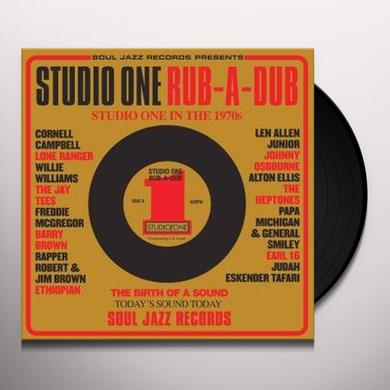 Soul Jazz Records Presents STUDIO ONE RUB-A-DUB Vinyl Record - Deluxe Edition
