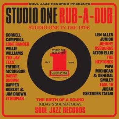 Soul Jazz Records Presents STUDIO ONE RUB-A-DUB Vinyl Record
