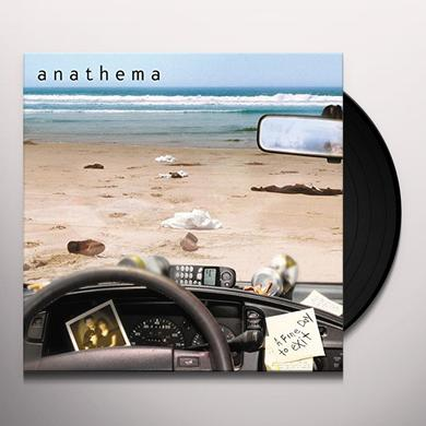 Anathema FINE DAY TO EXIT Vinyl Record - w/CD