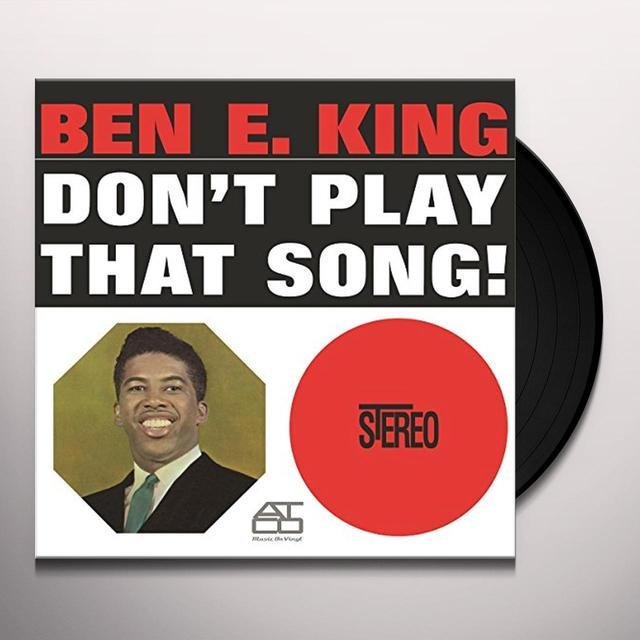 Ben E. King DON'T PLAY THAT SONG Vinyl Record - Holland Import