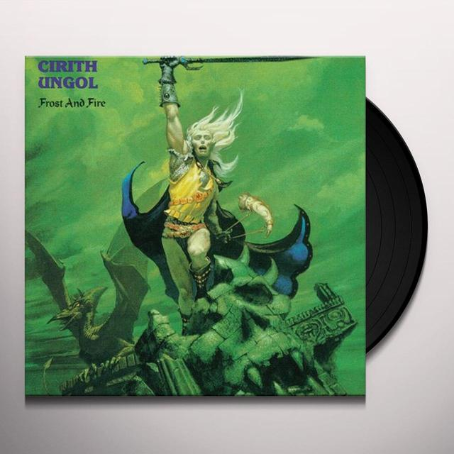 Cirith Ungol FROST & FIRE Vinyl Record - UK Import