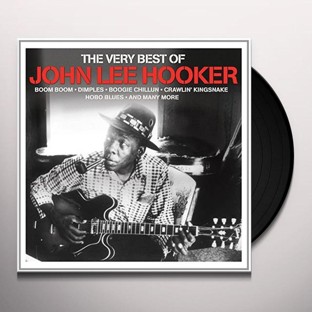 John Lee Hooker VERY BEST OF Vinyl Record - UK Import