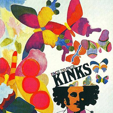 The Kinks FACE TO FACE Vinyl Record