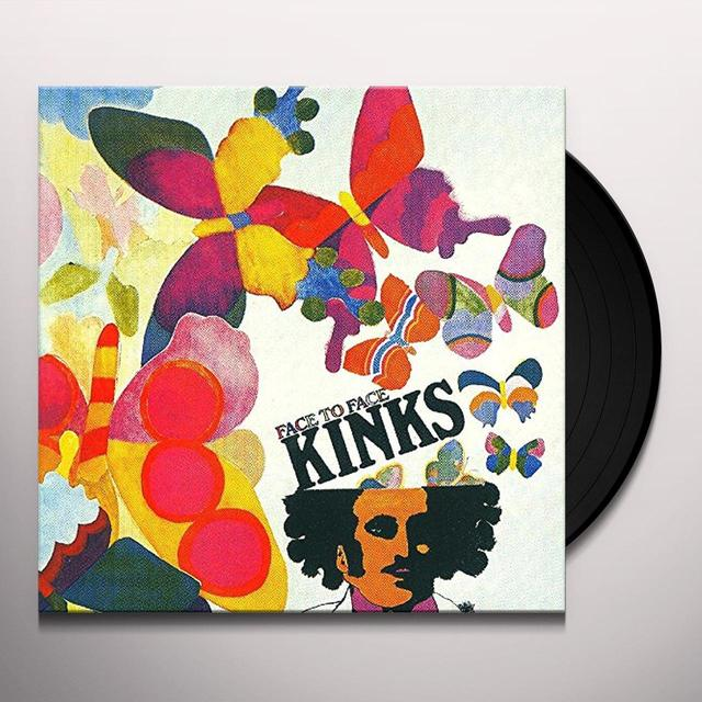 The Kinks FACE TO FACE (HK) Vinyl Record