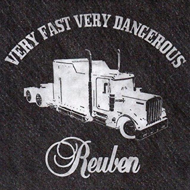 REUBEN VERY FAST VERY DANGEROUS Vinyl Record - UK Release