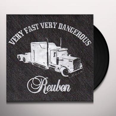 REUBEN VERY FAST VERY DANGEROUS Vinyl Record - UK Release