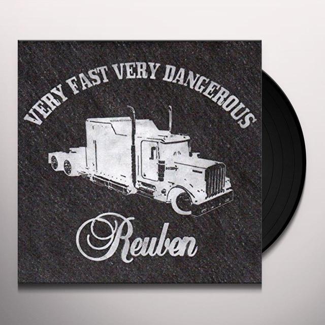 REUBEN VERY FAST VERY DANGEROUS Vinyl Record - UK Import