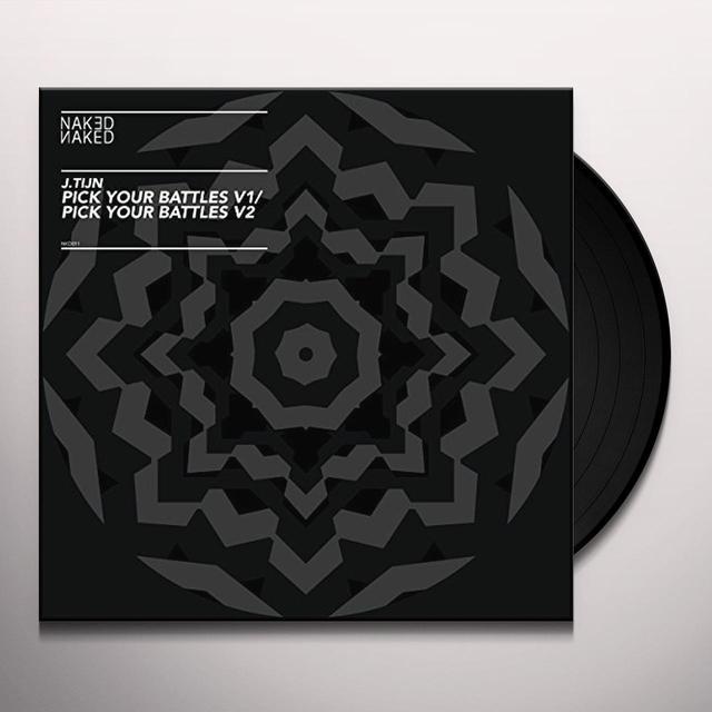 J.Tijn PICK YOUR BATTLES Vinyl Record - UK Import
