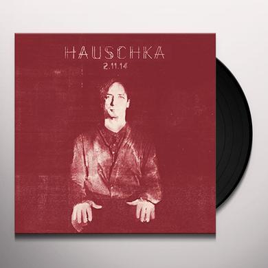 Hauschka 2.11.14 Vinyl Record