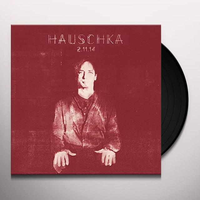 Hauschka 2.11.14 Vinyl Record - UK Import