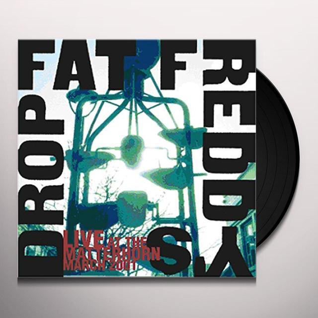 Fat Freddy's Drop LIVE AT THE MATTERHORN Vinyl Record - UK Import
