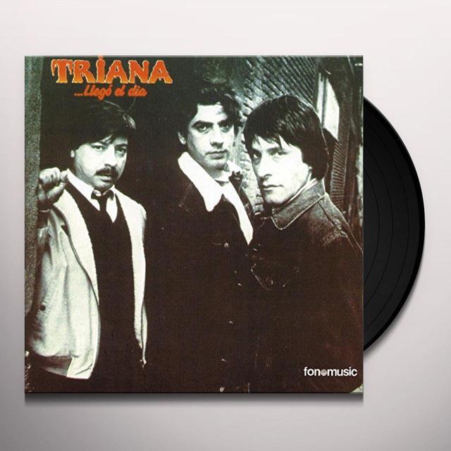 Triana LLEGO EL DIA Vinyl Record - Spain Import