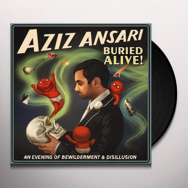 Aziz Ansari BURIED ALIVE Vinyl Record