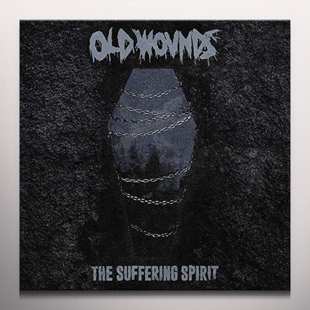 Old Wounds SUFFERING SPIRIT Vinyl Record - Colored Vinyl