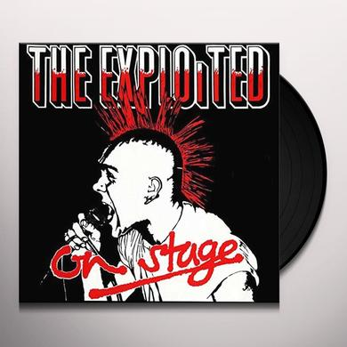 The Exploited ON STAGE Vinyl Record