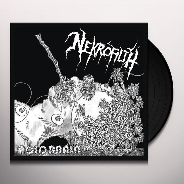 NEKROFILTH ACID BRAIN Vinyl Record
