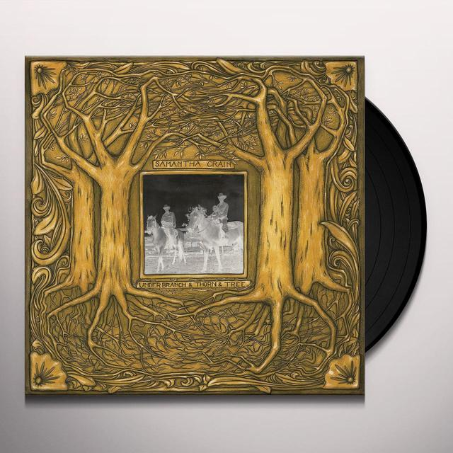 Samantha Crain UNDER BRANCH & THORN & TREE Vinyl Record - Gatefold Sleeve, 200 Gram Edition