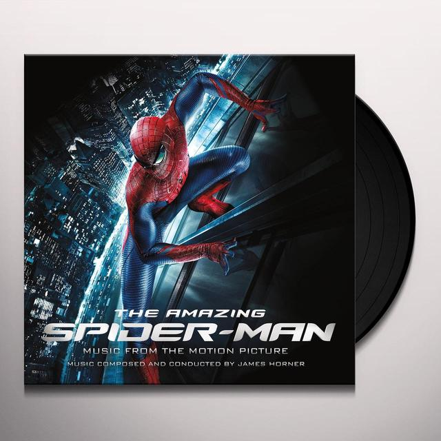 James Horner AMAZING SPIDERMAN: MUSIC FROM THE MOTION PICTURE Vinyl Record