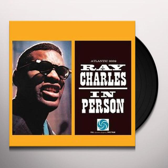 Ray Charles IN PERSON Vinyl Record - 180 Gram Pressing