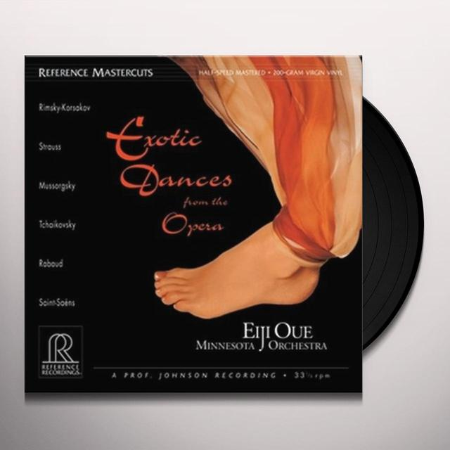 OUE / MINNESOTA ORCHESTRA EXOTIC DANCES FROM THE OPERA Vinyl Record
