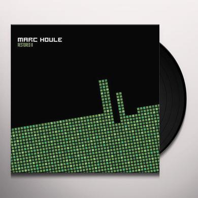Marc Houle RESTORED EP2 (EP) Vinyl Record
