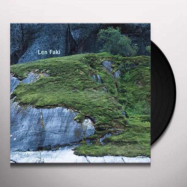 Len Faki BASEMENT TRAX 2 Vinyl Record