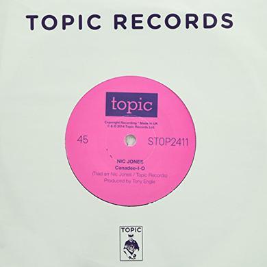 Nic Jones CANADEE-I-O - FLANDYKE SHORE Vinyl Record