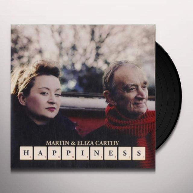 Martin Carthy & Eliza HAPPINESS - QUEEN OF HEARTS Vinyl Record