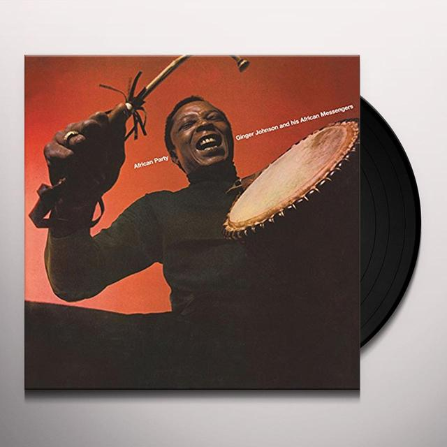 Ginger Johnson and His African Messengers AFRICAN PARTY Vinyl Record