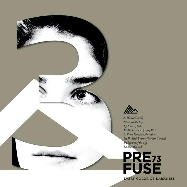 Prefuse 73 EVERY COLOR OF DARKNESS Vinyl Record