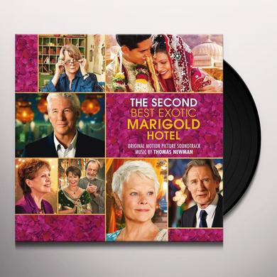 Thomas Newman SECOND BEST EXOTIC MARIGOLD HOTEL - O.S.T. Vinyl Record - Gatefold Sleeve