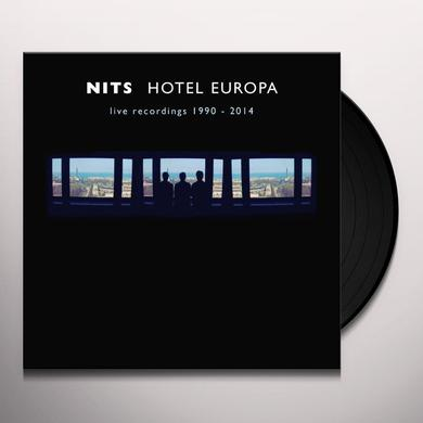 Nits HOTEL EUROPA (LIVE RECORDINGS 1990-2014) Vinyl Record