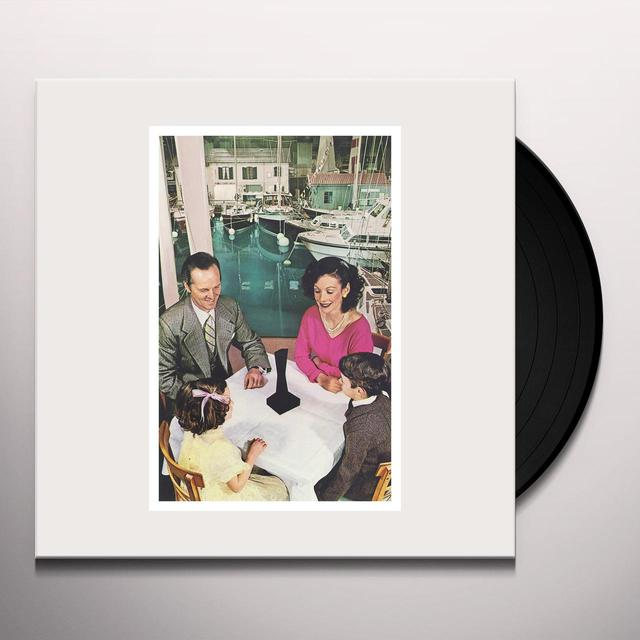 Led Zeppelin PRESENCE Vinyl Record - 180 Gram Pressing, Deluxe Edition, Remastered