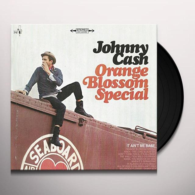 Johnny Cash ORANGE BLOSSOM SPECIAL Vinyl Record - Gatefold Sleeve, 200 Gram Edition, Remastered
