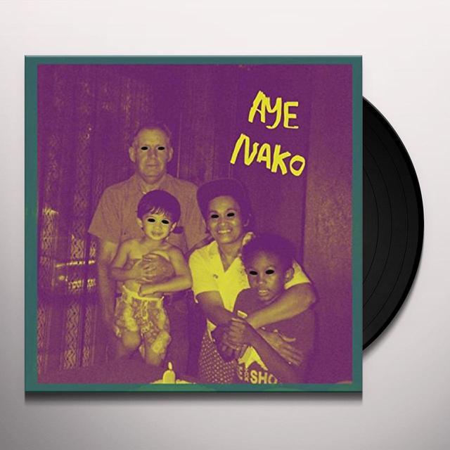 AYE NAKO BLACKEST EYE Vinyl Record