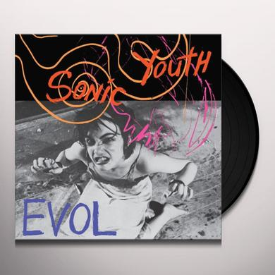 Sonic Youth EVOL Vinyl Record