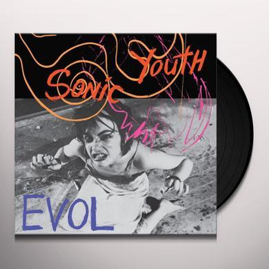 Sonic Youth EVOL Vinyl Record
