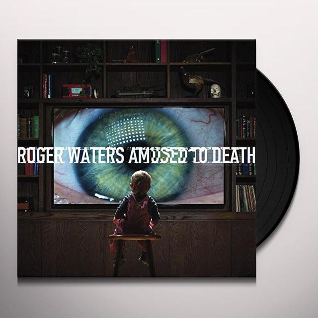 Roger Waters AMUSED TO DEATH Vinyl Record - Gatefold Sleeve, Picture Disc