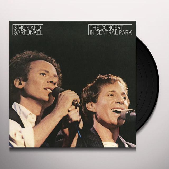 Simon & Garfunkel CONCERT IN CENTRAL PARK Vinyl Record - 180 Gram Pressing