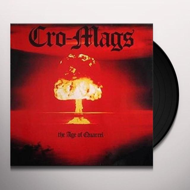Cro-Mags AGE OF QUARREL Vinyl Record - 180 Gram Pressing