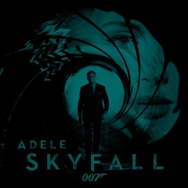 Adele Skyfall James Bond Theme Vinyl Record