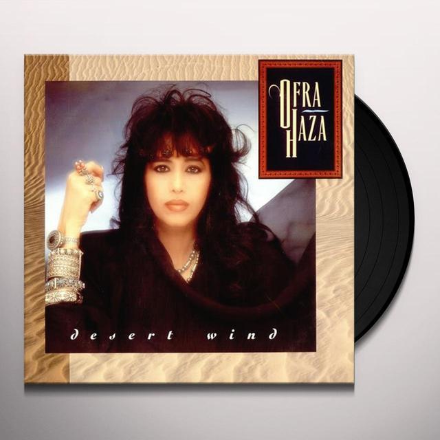 Ofra Haza DESERT WIND (MIDDLE EAST) Vinyl Record