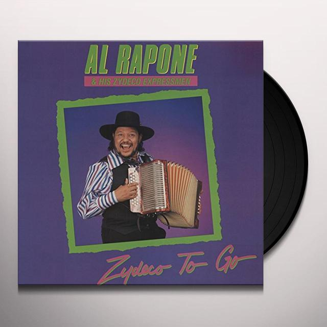 Al Rapone & Zydeco Expressmen ZYDECO TO GO Vinyl Record