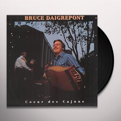 Bruce Daigrepont COEUR DES CAJUNS Vinyl Record
