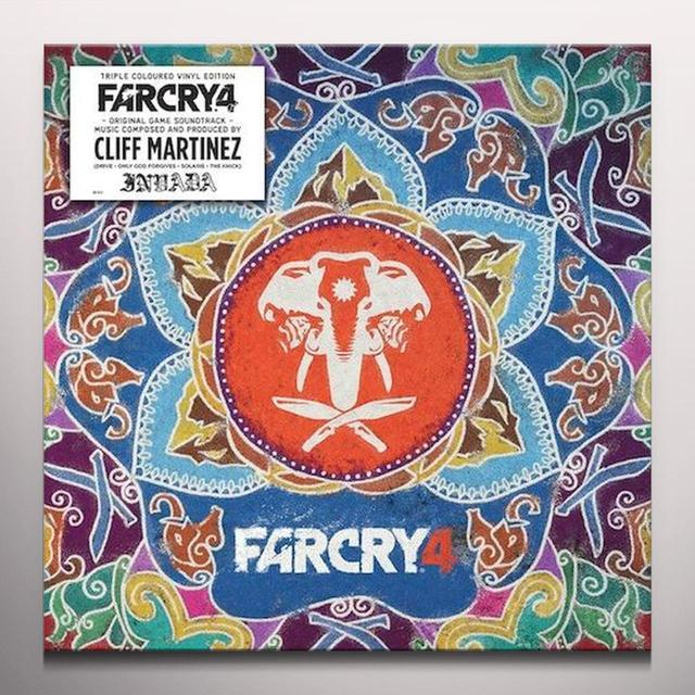 Cliff Martinez FAR CRY 4 / O.S.T. Vinyl Record - Blue Vinyl, Gatefold Sleeve, Green Vinyl, Limited Edition, Orange Vinyl