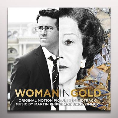 Hans Zimmer & Martin Phipps WOMAN IN GOLD / O.S.T. Vinyl Record - Colored Vinyl, Gatefold Sleeve, 180 Gram Pressing